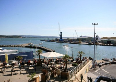 Dolphin Quays view
